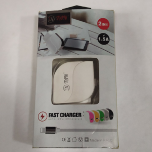 TAN Fast Mobile Charger | White