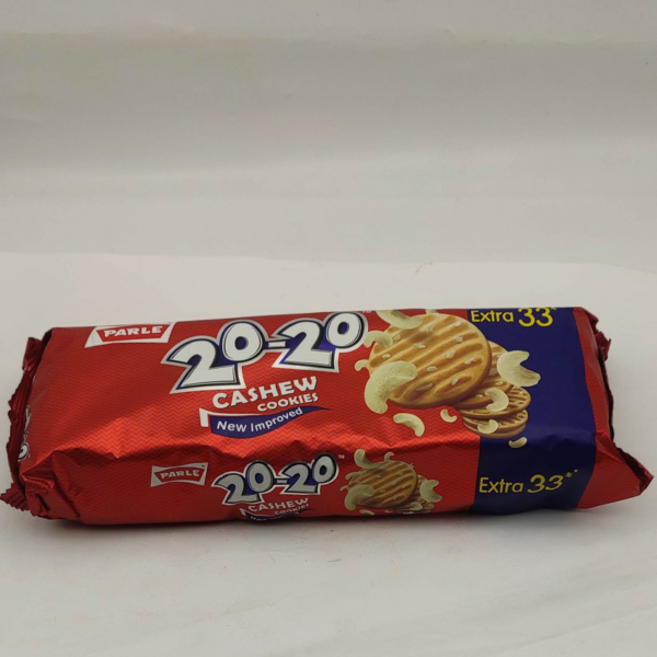 PARLE 20-20 Cashew Cookies | 200g